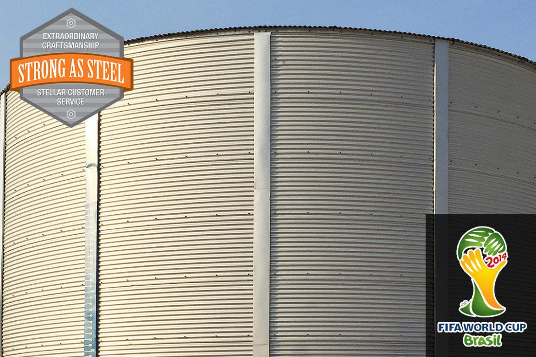 World Cup Brazil – 500,000 gallon Potable Water Storage Tank