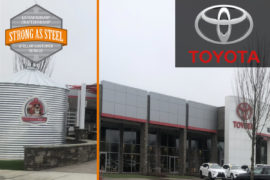 Custom Water Tanks for Toyota Dealerships USA