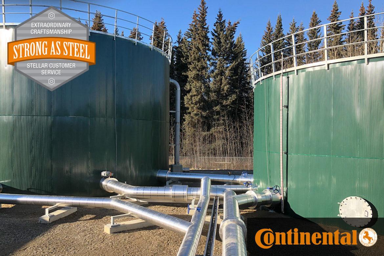 Continental Tire - 1,000,000 (1 million gallon) Water Storage Tank