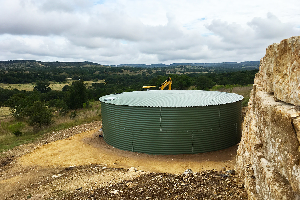 outdoor water tanks