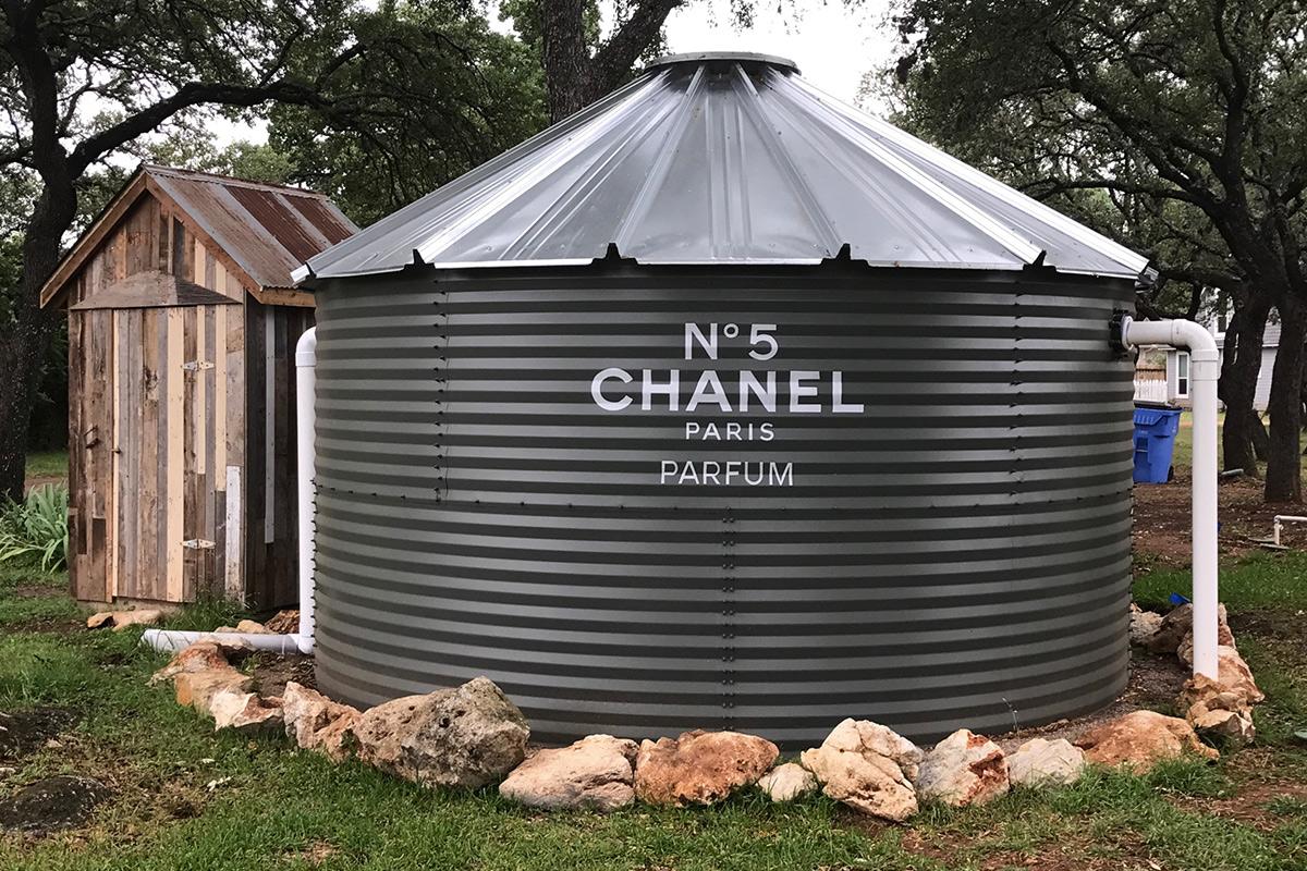 Chanel Water Tank