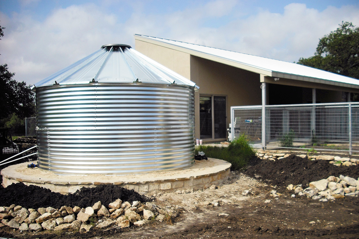 Water tanks for homes