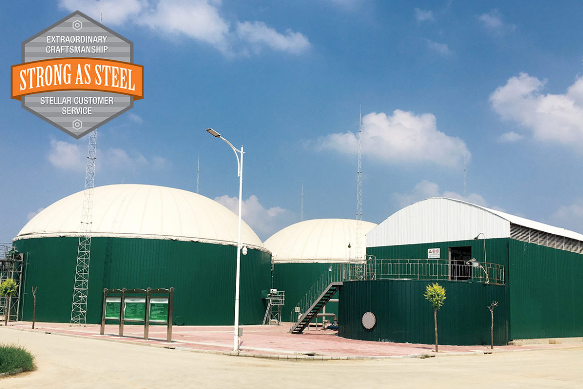 Bio Gas Storage Tanks