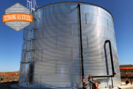 NFPA Protected Water Tank